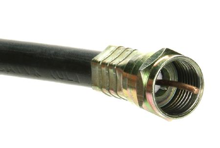 Close Up of the End of a Cable
