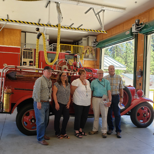 BOS at CAL FIRE Station