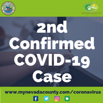 Coronavirus NewsFlash - 2nd Confirmed Case
