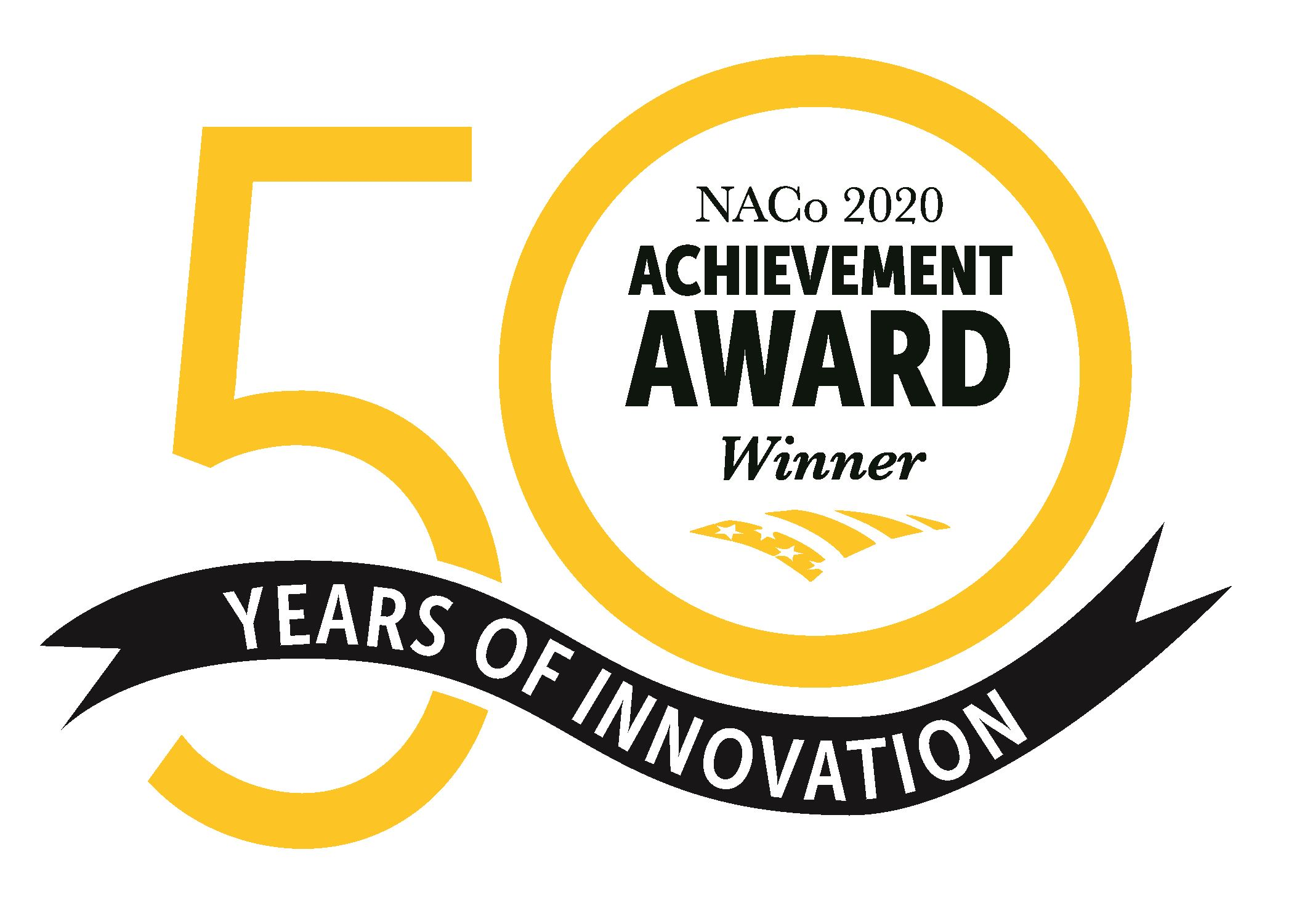 2020 National Association of Counties Achievement Award Winner Seal