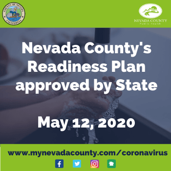 Readiness Plan Approved May 12