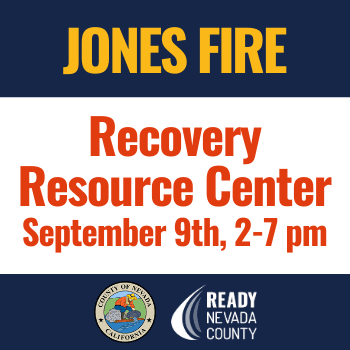 Jones Fire Recovery Resource Center - NewsFlash