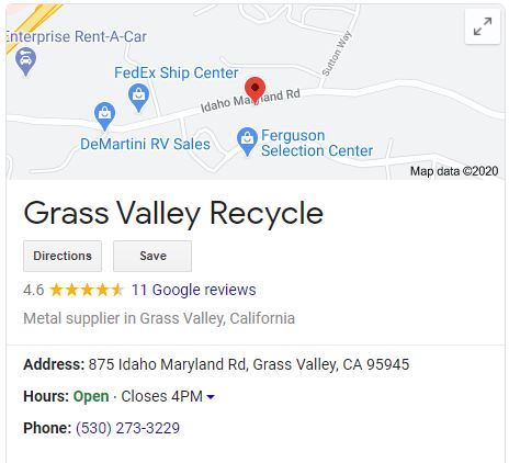 Grass Valley Recycle
