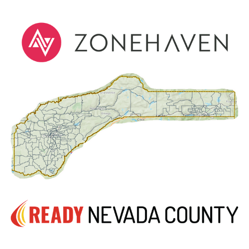 Nevada County Divided into Evacuation Zones Across the County
