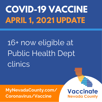 16+ now eligible at public health vaccine clinics