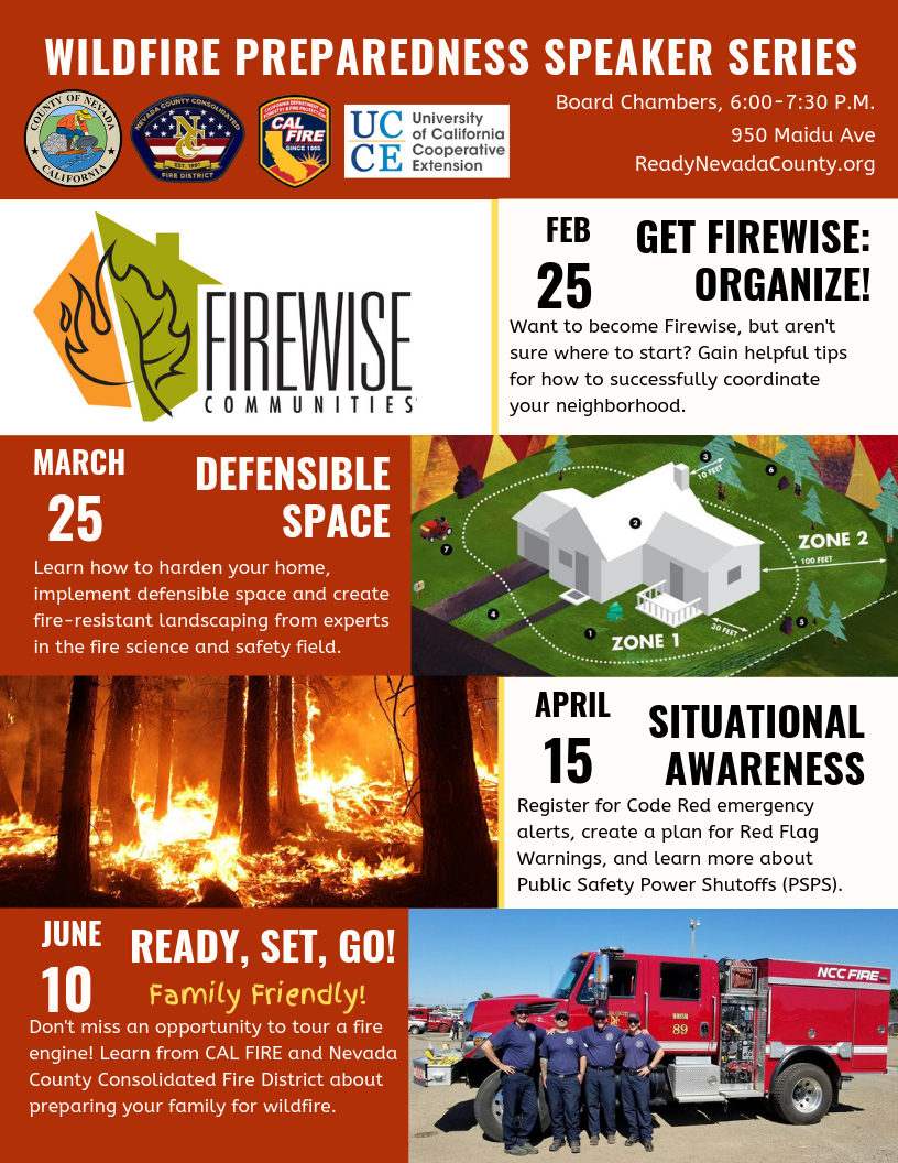 Wildfire Preparedness Speaker Series