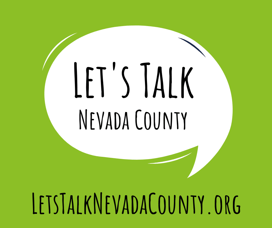 Lets Talk Nevada County Logo V4