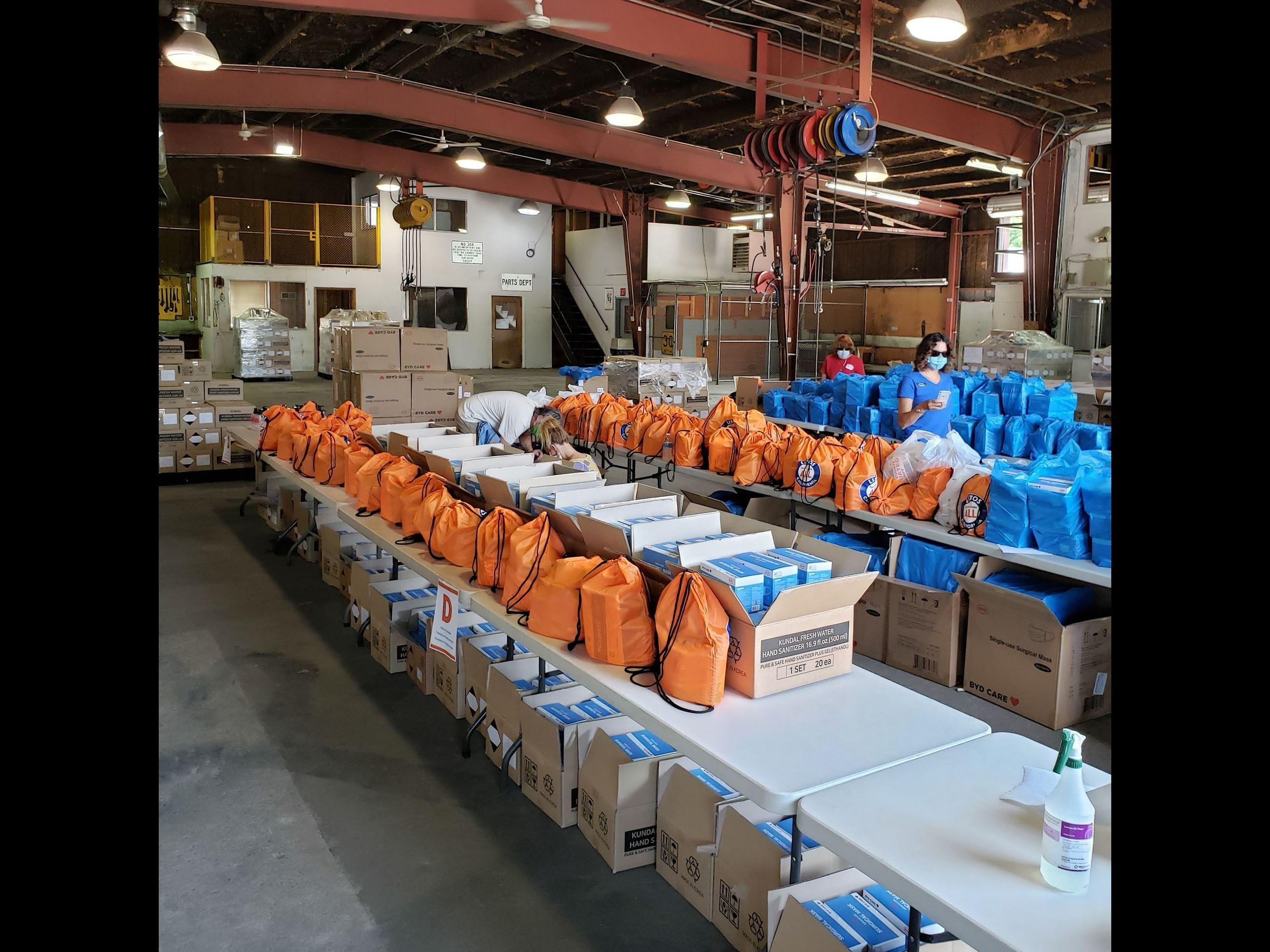 Grass Valley PPE Distribution 1